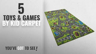 Top 10 Kid Carpet Toys & Games [2018]: Kids Carpet Playmat Rug City Life Great For Playing With Cars