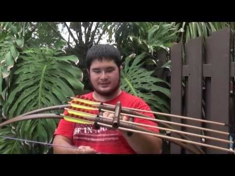 How to Make a Centershot Double PVC Bow With Built In Quiver Part 4
