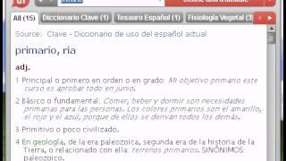 Definición de primario