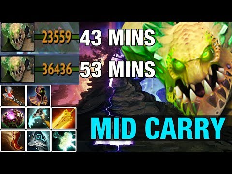 UNDER LORD MID CARRY By Nine 9.1K MMR - Dota 2