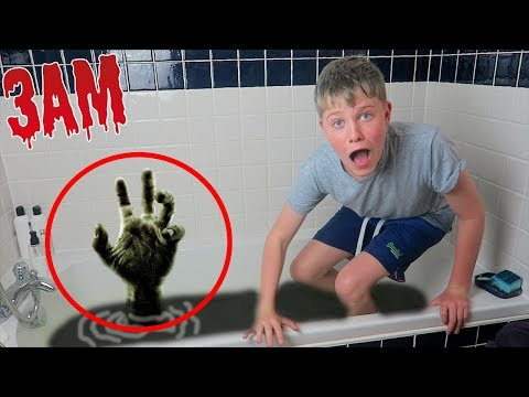 NEVER USE BATH BOMBS AT 3AM! (GHOST)