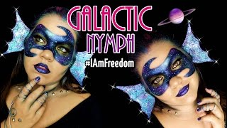 NINFA GALÁCTICA MAKEUP ❤ #IAmFreedom Awards Entry || Galactic Nymph Makeup