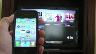 AirPlay Demo iPhone 4