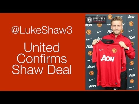 United Sign Luke Shaw