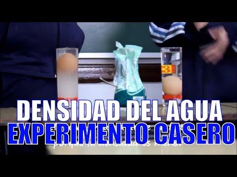 Experimento: Densidad del agua - Colegio de La Presentación de Guadix (Granada)