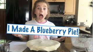 I Made a Blueberry Pie! | Ryan Goes NUTS | Flippin' Katie