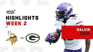 Dalvin Cook's MONSTER Game w/ 154 Yds & 1 TD | NFL 2019 Highlights