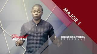 2018 International Visitors Program  With Prophet Shepherd Bushiri