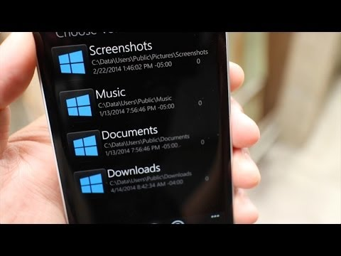 Two file managers you should download for Windows Phone 8.1