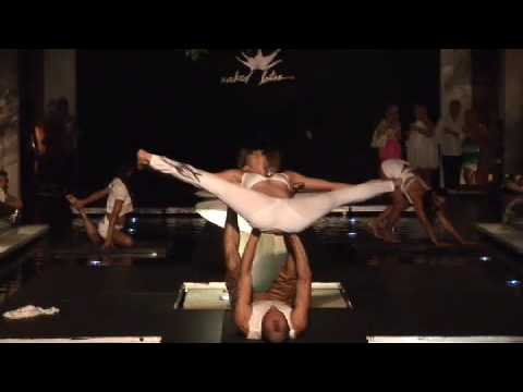 Naked Lotus Fashion Show video