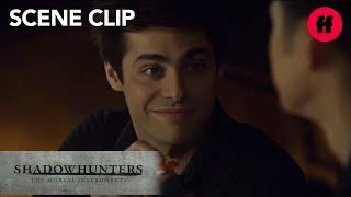 Shadowhunters | Season 2 Episode 17: Malec Has A Romantic Dinner | Freeform