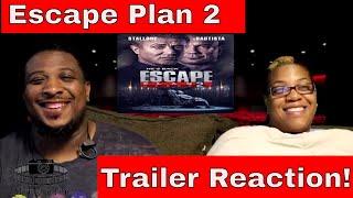 Escape Plan 2 Official Trailer Reaction!