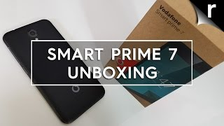 Vodafone Smart Prime 7: Unboxing & hands-on review