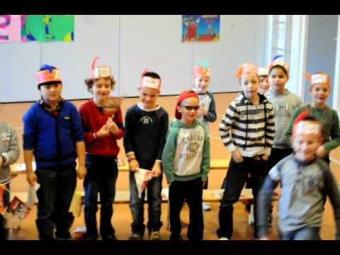 De Beverburch | Groep 4 - Rap - YouTube