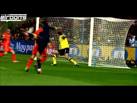 When the Final Whistle Comes: World Cup 2010 Final Match Spain - Netherlands [HD] || by elroon