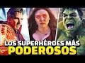 Los 15 Superhéroes Más PODEROSOS del Universo Cinematográfico de MARVEL