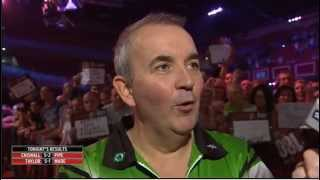 Phil Taylor annoyed at Rod Stud question after semi win | Word Grand Prix 2013