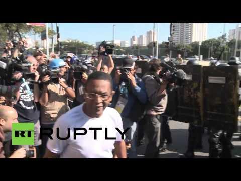 Brazil: Violence sweeps Sao Paulo hours before World Cup kick-off