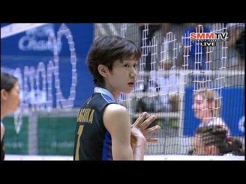 Hisamitsu Spring(JPN) - Zhetyssu(KAZ) Asian Women's Club Volleyball Championship 2014