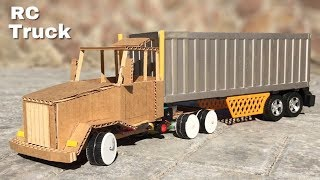 How to Make Amazing RC Truck at Home Out of Cardboard