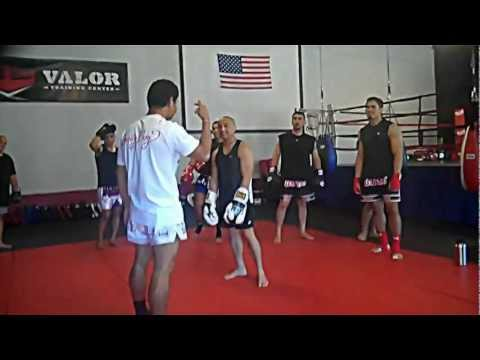Muay Thai Clinching with Malaipet Sasiprapa: VALOR Training Center in Stockton, CA Image 1