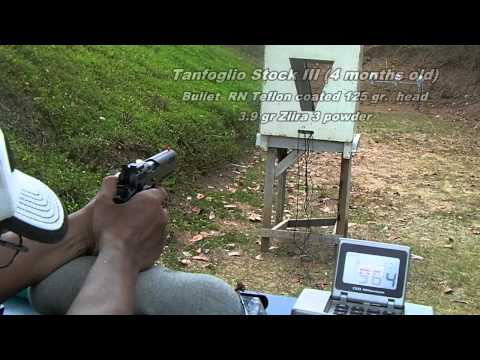 Tanfoglio Stock 3 vs CZ 75B and CZ 75 Shadow