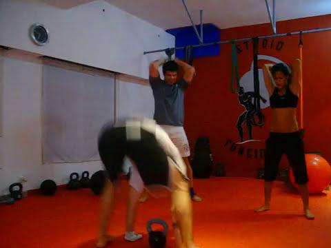 entrenamiento de core mas potencia