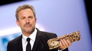 Kevin Costner received an Honorary Lifetime Achievemt Award - César Award 2013 Paris