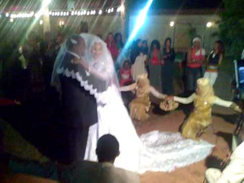 ethiopian wedding , slow dance with clear sky