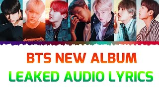 LYRICS TO BTS LEAKED AUDIO BY JIN FOR THEIR NEXT ALBUM!