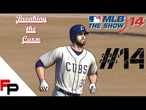 MLB 14 The Show - Chicago Cubs Fantasy Draft Season - Breaking the Curse Ep. 14 vs. Atlanta Braves
