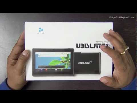 Datawind Ubislate 7Ci Aakash 2 Review: Unboxing full HD