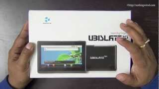 Datawind Ubislate 7Ci Aakash 2 Review_ Unboxing full HD