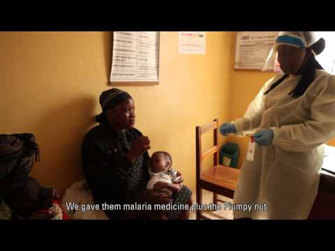 UNICEF is supporting malnutrition screening and treatment