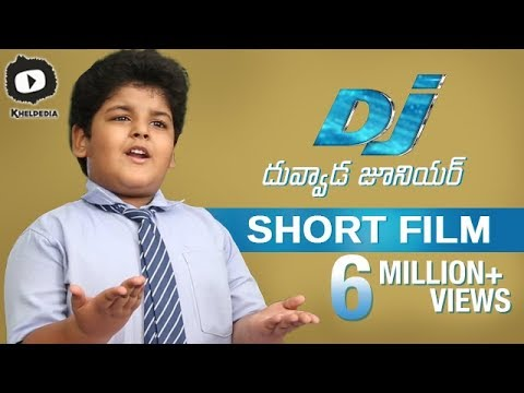 Dj Allu Arjun FAN as Dj Duvvada Junior | Dj Duvvada Junior Latest 2017 Telugu Short Film | Khelpedia