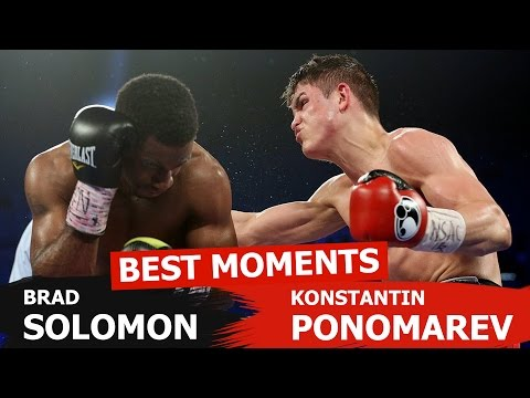 Best moments: Konstantin Ponomarev vs Brad Solomon (Pacquiao vs Bradley)