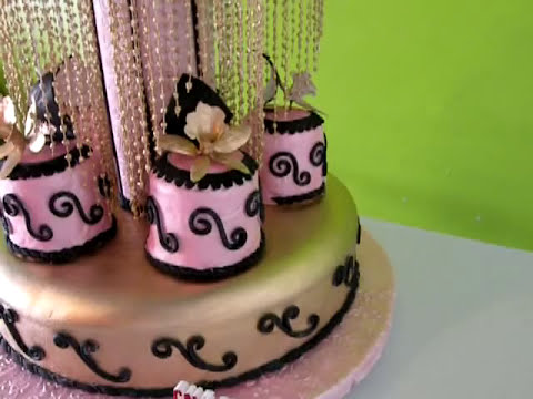 fondant cake design by monchiakes