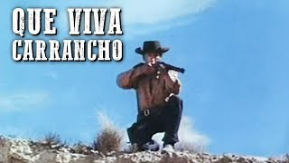 Que viva Carrancho | PELÍCULA DEL OESTE | Full Movie | Español | Cine Occidental