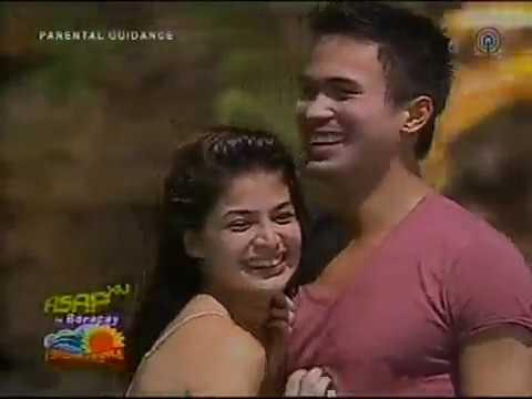 Anne Curtis and Sam Milby Dancing Together: ASAP Show in BORACAY