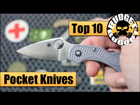Top 10 Favorite EDC Knives -- Best Pocket Knives for Everyday Carry | EDC Knife Review