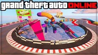 GTA 5 DLC ONLINE!! - NEW STUNT RACES GAMEPLAY! (GTA 5 DLC UPDATE)