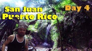 San Juan Puerto Rico | Rain Forest | Vegan Vacation at Sea Day 4
