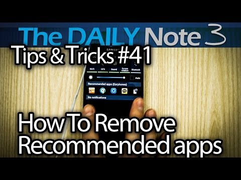 Samsung Galaxy Note 3 Tips & Tricks Ep. 41: How to Remove Recommended Apps & Debloating Tips