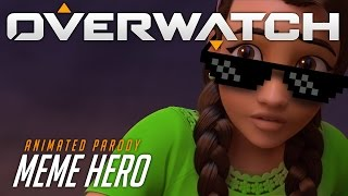 Overwatch Animated Short | Meme Hero