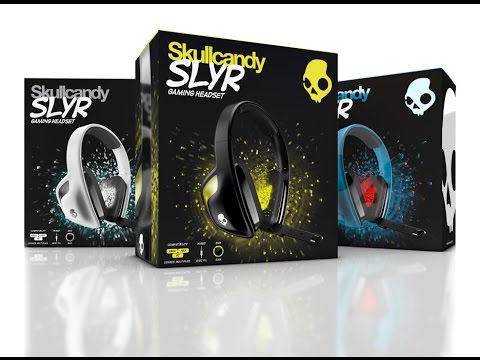 Skullcandy SLYR Gaming Headset Unboxing and More!