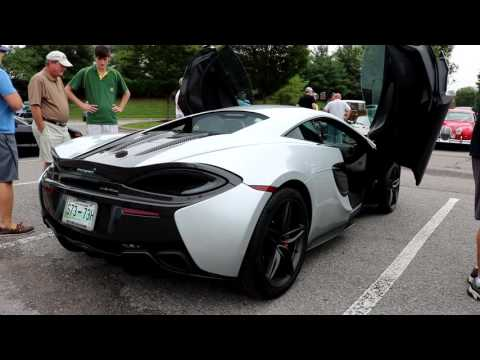 Checking out the Mclaren 570S at Nashville CarsnCoffee!
