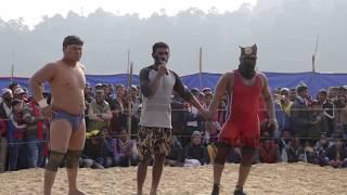 नेपालका पहलवानले भारतका गोल्ड मेडलिस्ट लाई धोबी कुटे    Wrestling (WWE India Vs Nepal)