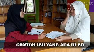 Isu-isu dan Masalah dalam Dunia Pendidikan di SD NEGERI 164/I SRIDADI