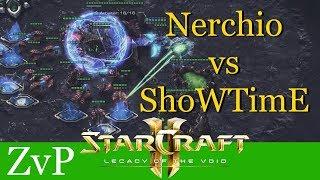 Nerchio vs ShoWTimE (ZvP) - WCS Montreal - Starcraft 2: LotV Profi Replays [Deutsch   German]