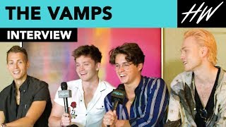 The Vamps Leak A Never Before Told Crazy Hotel Story! | Hollywire